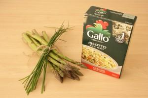ingredientes risotto de esparragos