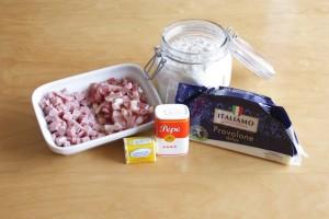 ingredientes bocadillo napolitano