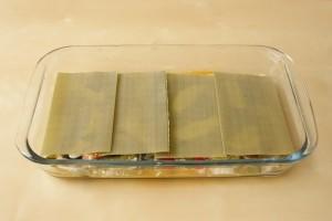 capa de lasaña