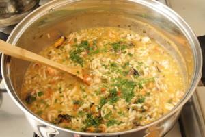 arroz y perejil